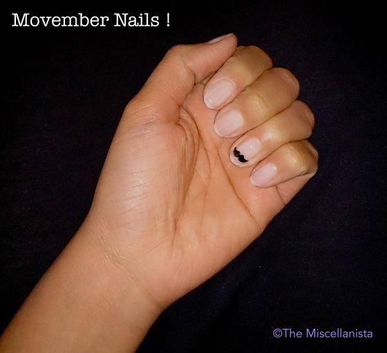 Movember Nails