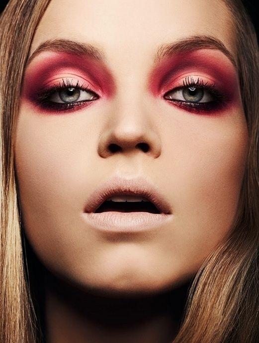 marsala-makeup