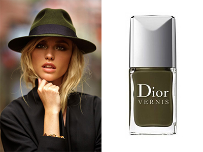 kaki-hat-polish-dior