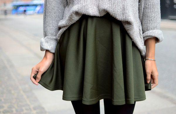 kaki-skater-skirt