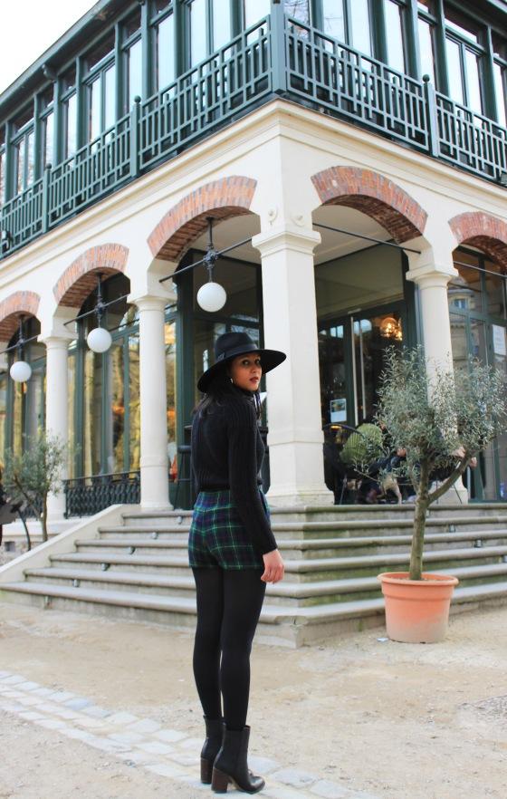 Soleil d'hiver_chapeau-Zara-col_roule-Pull-and-Bear_Short_Tartan_Boots-Asos-2-Rosa_Bonheur
