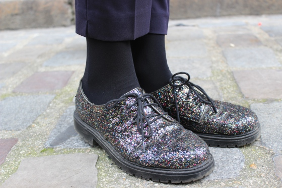 Like a sir-glitter blutchers-New Look