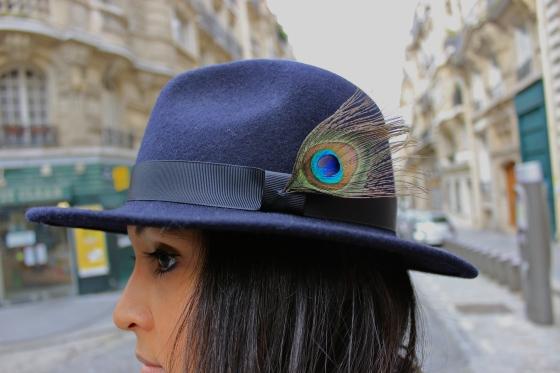 Like a sir-look-DIY peacock hat