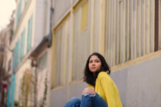 Yellow blazer-look-veste jaune Balsamik-2