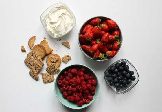 ingredients-fruits-rouges-cream-cheese-speculoos-palets-bretons