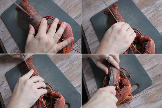 découper-homard