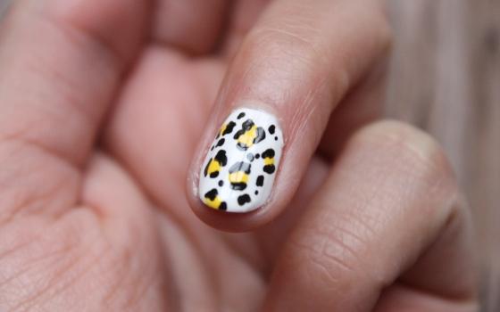nail art leopard-1