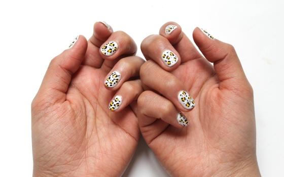 nail art leopard-4
