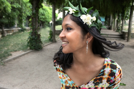 Robe-tie-dye-sheinside-couronne-de-fleurs-boucles-doreille-my-little-fantaisie-2